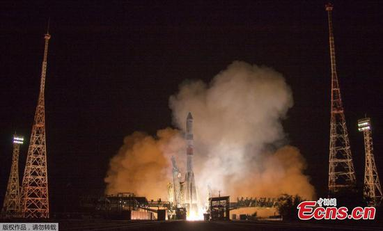 Russian cargo ship makes fastest-ever trip to space station
