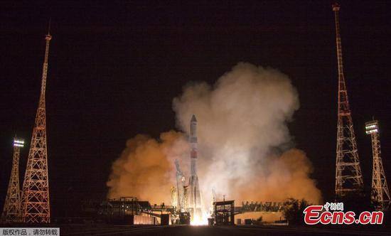 俄罗斯货船有史以来最快的太空站之旅