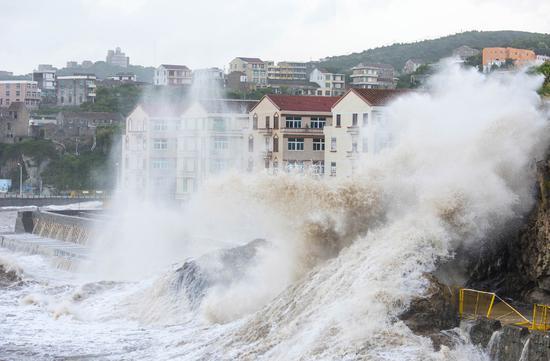 Typhoon Maria makes landfall in Fujian