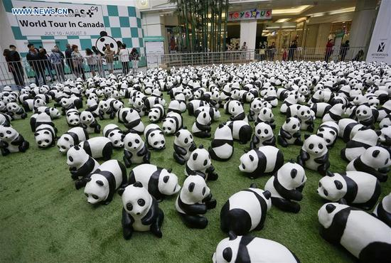 '1,600 Pandas' begins Canada exhibition tour in Vancouver