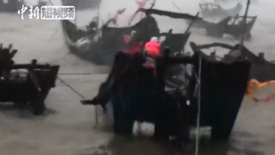 Fishermen rescued ahead of super typhoon Maria's arrival