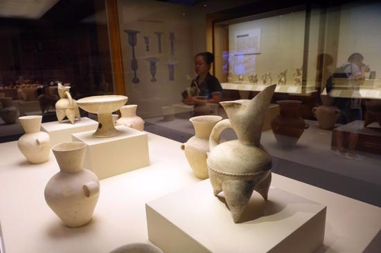 Jiaojia relics displayed at National Museum