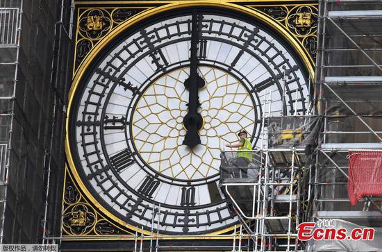 London's Big Ben undergoing renovation