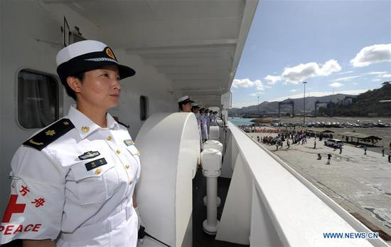 Chinese naval hospital ship arrives in PNG to offer medical services