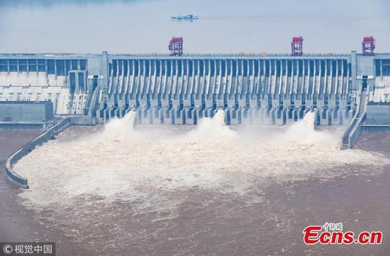 Flood, 60, 000 cubic meters of water a second, to hit Three Gorges Reservoir