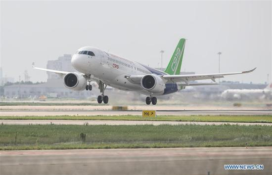 C919 project enters intensive flight test phase