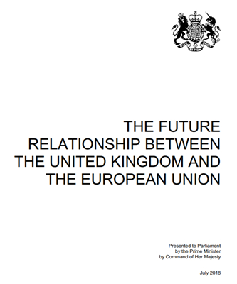 Screenshot of the cover of the white paper /gov.uk Photo