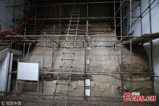 New paleolithic site found in Lantian County