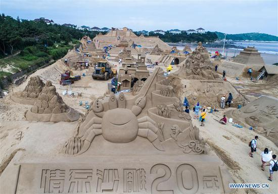 2018 Zhoushan Int'l Sand Sculpture Festival to kick off