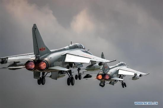 PLA air force to send H-6K bombers to Int'l Army Games