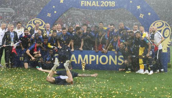 France claim second World Cup title