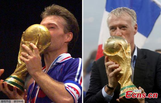 Didier Deschamps steers France to World Cup glory