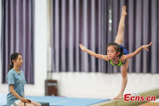 Southwestern county nurtures gymnastic dreams