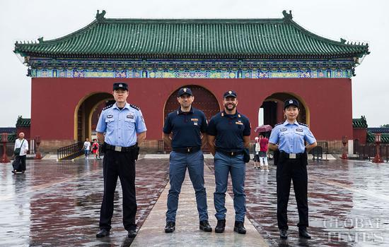 Italian police officers begin 2nd joint patrol in China