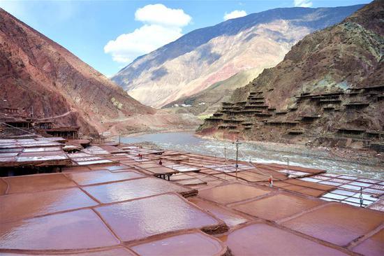 Scenery of Qinghai-Tibet Plateau