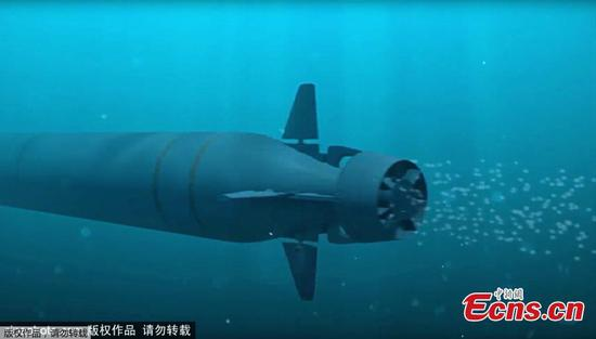 Russia launches trials of nuclear-powered underwater drone