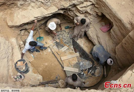 Archaeologists unearth mysterious sarcophagus in Alexandria