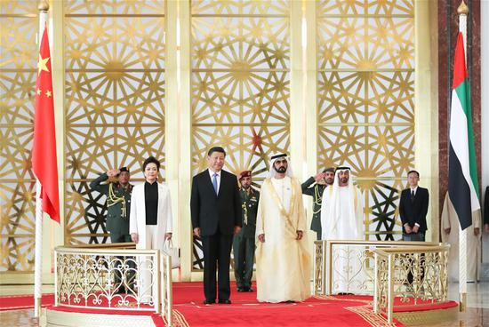 President Xi arrives in Abu Dhabi for state visit to UAE