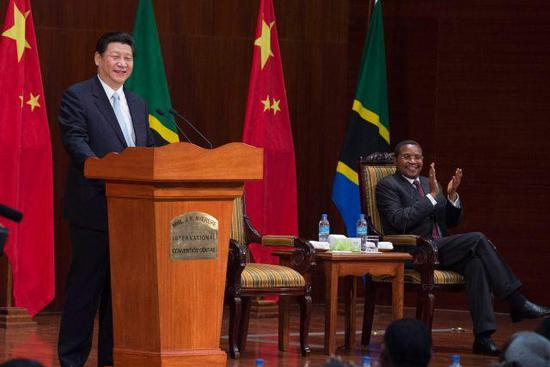 Xi Jinping's remarks on China-Africa ties