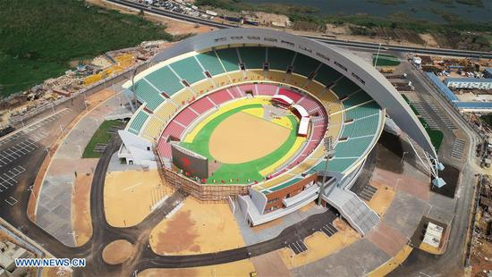 In pics: important venues built with Chinese assistance in Senegal