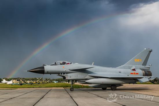 Chinese Air Force aircraft arrive in Russia for 'Aviadarts-2018'
