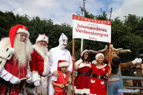 2018 World Santa Claus Congress opens in Copenhagen