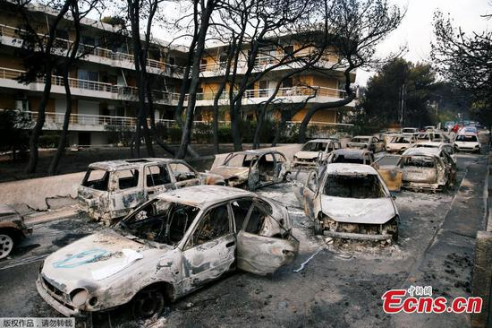 Wildfires kill at least 74 in Greece's 'Pompeii'