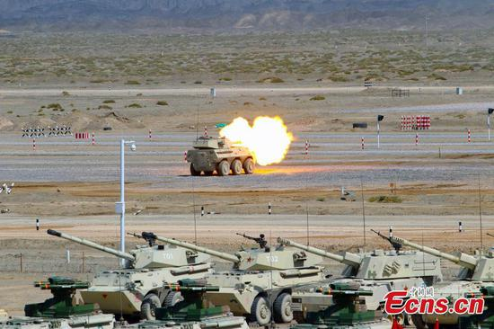 International Army Games kick off in Xinjiang