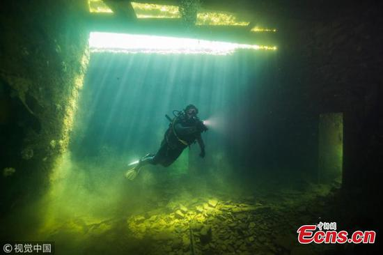Diving into Estonia's abandoned underwater prison