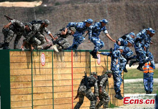 'Seaborne Assault', part of International Army Games, starts in Quanzhou