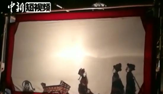 Be dazzled by Wushan shadow puppetry