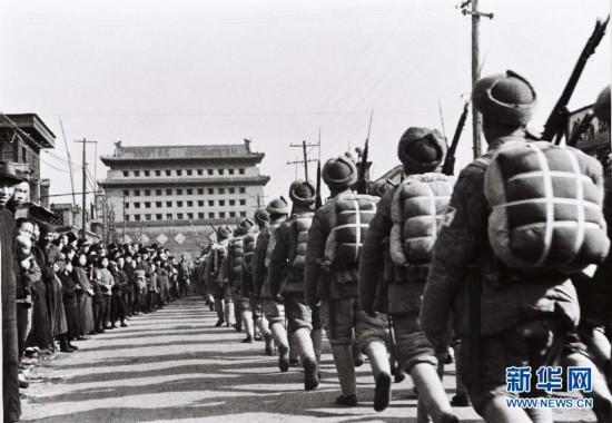 解放军历史上难忘的时刻