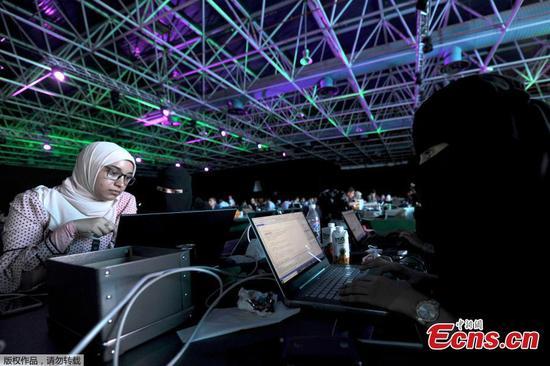 """沙特阿拉伯举办中东最大的""""黑客马拉松"""""""