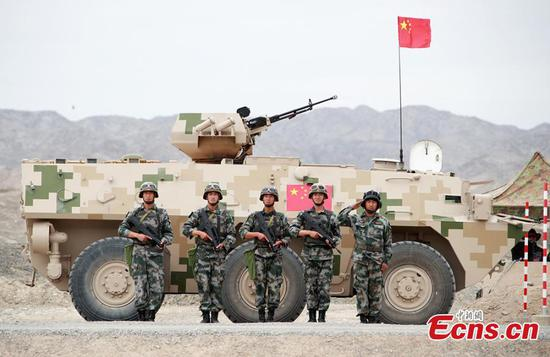 中国赢得了2018年国际陆军运动会比赛