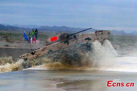 China wins top three prizes in 'Suvorov Attack' event