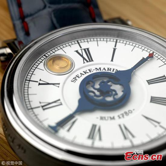 包含世界上最古老的朗姆酒的稀有手表的价格为14,674磅