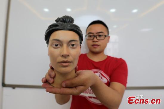 研究人员通过3D打印重现过去人们的面孔