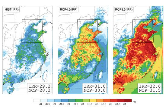 A new study reveals the North China Plain will face one of the worst consequences of climate change.  (MIT Image)