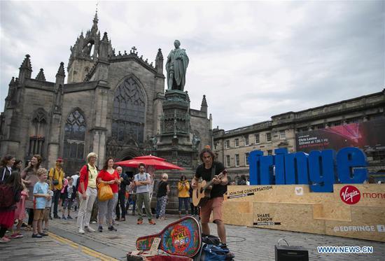 爱丁堡艺穗节2018在英国苏格兰举行