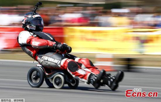 鲍比赛车创世界纪录