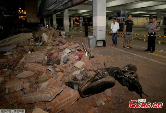 Contact established with 37 Chinese tourists after deadly Indonesia quake
