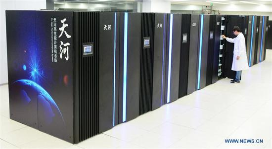 China tests new-generation exascale supercomputer prototype