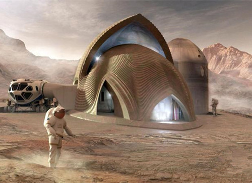 Winners in NASA 3D-printed habitat for Mars design