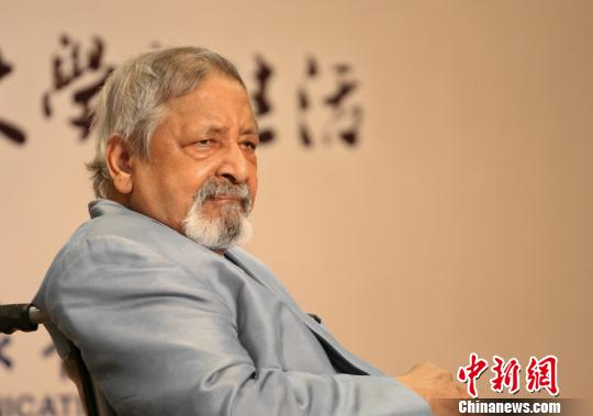 Vidiadhar Surajprasad Naipaul. (File photo/China News Service)