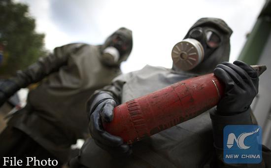 Moscow says Washington 'hypocritical' regarding elimination of chemical weapons