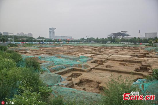 Ancient tomb clusters discovered in Beijing