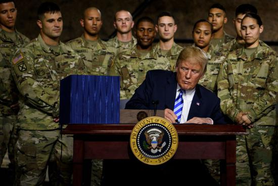Trump signs 716-bln-USD defense authorization bill