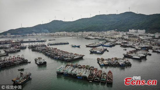 广东为热带风暴贝宾卡做好准备