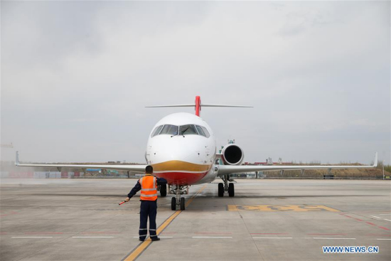 Two airlines agree to expand domestically developed ARJ21 jetliners