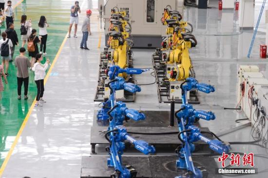 Robot market slowdown short-term despite China-U.S. friction: NDRC